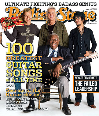 Using Rolling Stone's 100 Best Guitar Songs as a Predictor for the